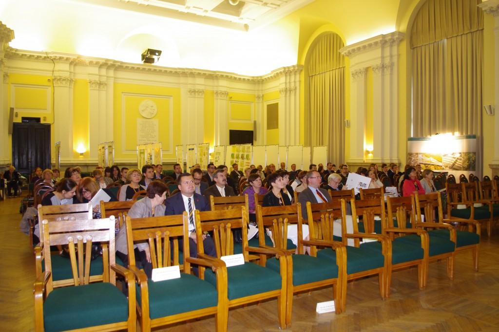Mała Aula podczas konferencji