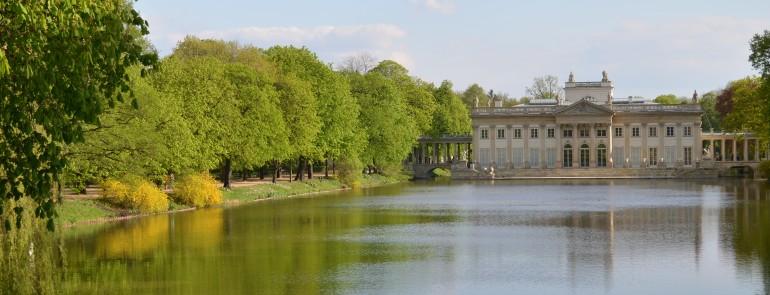 Pałac na wodzie w Łazienkach Królewskich