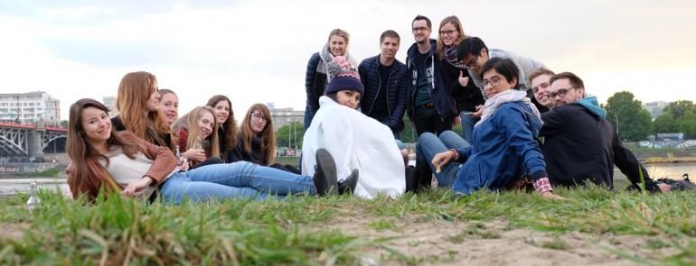 Wizyta studentów z UFR de Geographie et Amenagement