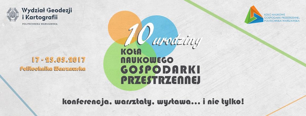 Zapraszamy na 10. urodziny KNGP!