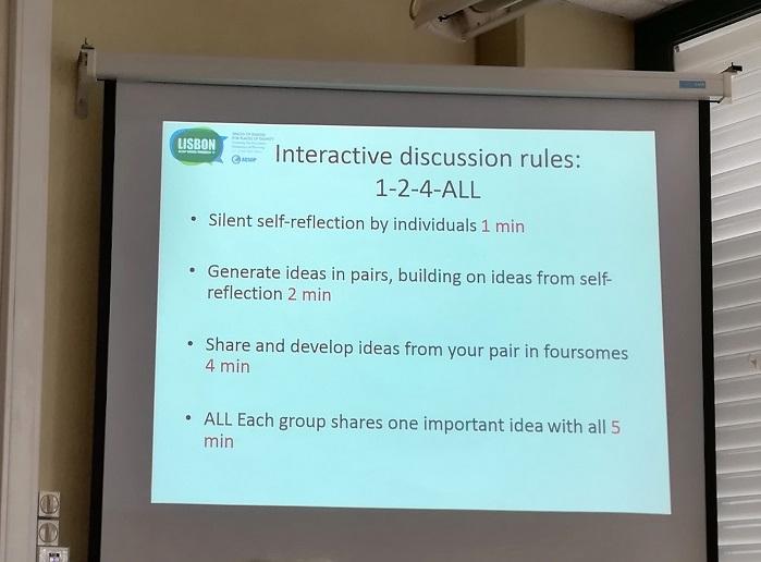 Zasady sesji interaktywnej