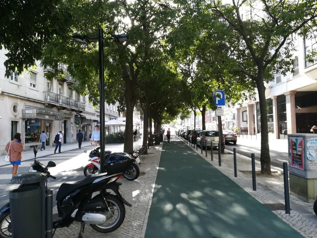 Przestrzenie miejskie w Lizbonie